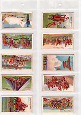 1910 Player's Cigarettes - Army Life Full Set 1-25 - (Grade VG+-NM) WH