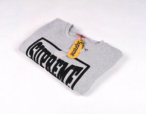 Supreme Spain Crew Neck Men Jumper Sweatshirt Pullover   Size L   SFHU21