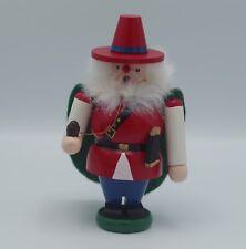 """Vtg Otto Mertens Erzgebirge Germany Santa Smoker 7"""" Incense Burner"""