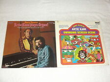 "(2) SEALED LP's - Artie Kane ""Plays Organ"" , ""Swinging Screen Scene"" 1070's Jazz"
