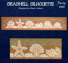*** SEASHELL SILHOUETTE CROSS STITCH CHART BY IMAGINATING DESIGNS ***