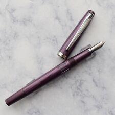 Noodlers Nib Creaper Standard Flex Pearl Wampum Piston Fountain Pen Flex Nib
