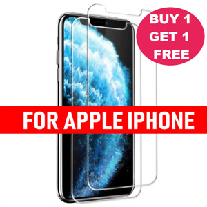 Tempered Glass Screen Protector For iPhone 12 Pro Max 11 Pro Max Mini XR XS MAX