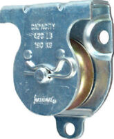 "National Hardware N233-247 Wall/Ceiling Mount Single Pulley, 1-1/2"", Zinc"