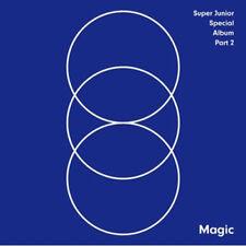 SUPER JUNIOR [MAGIC] Special Album PART.2 CD+FotoBuch K-POP SEALED