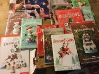 Hallmark Dreambook Catalog Lot of 11 plus 2  misc Flyers!