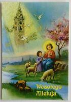 Wesolego Alleluja Happy Easter 1996 Postcard (P295)