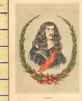 C1860 Vittoriano Stampa ~ James II Di