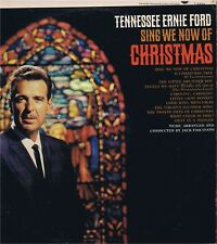 "TENNESSEE ERNIE FORD ""Sing We Now of Christmas"" T-2394 LP-33 Album EX Mono 1965"