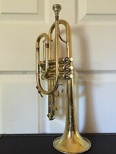 vintage cleveland H.N. white Cornet /horns MADE BY KING # 131857