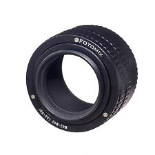 M42 to M42 36mm-90mm Adjustable Focusing Helicoid Adapter Macro Tube M42-M42