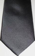 Ted Baker Knotted Herren Grau Krawatte 100% Seide nagelneu