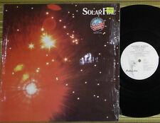 MANFRED MANN'S EARTH BAND, SOLAR FIRE, LP 1974/1990 UK A1/B1 EX-/EX