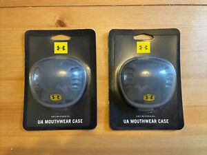 BRAND NEW UNDER ARMOUR Gum Sheild / Mouth Guard Case - New In Box X 2