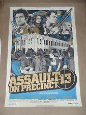Assault on Precinct 13 Tyler Stout movie poster print Alamo Mondo John Carpenter