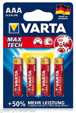 40 x VARTA MAX TECH AAA ALKALINE MICRO 1,5V LR03 4703 Batterie Kamera MN2400