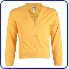 "New Good Quality Boys Girls School Sweatshirt Cardigans size 22""-34"" (1250)"