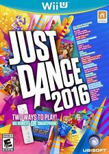 Just Dance 2016 (Nintendo Wii U, Ubisoft) New/Sealed *Free Controller Phone App