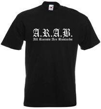 A.R.A.B. All Racists Are Bastards T-Shirt M Hardcore Punk Antifa Hooligan AC/AB