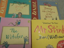 ROALD DAHL DANNY THE WITCHES GOING SOLO  DAVID WALLIAMS MR STINK STOCKING GIFTS