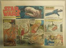 Star Wars Sunday Page by Al Williamson from 11/1/1981 Large Half Page Size!