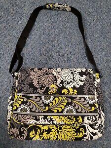 "Vera Bradley Baroque Messenger Bag 12""h x 15""w X 4""d"