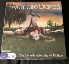 NEW! Vampire Diaries Board Game Rare! OOP! FACTORY SEALED! CW-TV Pressman 2010