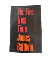 James Baldwin The Fire Next Time 1st Ed Book Club With Dj 1963 Dial