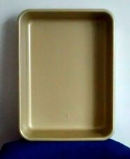 """New listing Nordic Ware Rectangle 11"""" x 8 """" Bakeware Pan Non-stick Copper Coating New"""