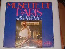 LP Musette de Paris - René Maquet & sein Musette-Ensemble Französische Chansons