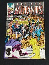 The New Mutants #46 Mutant Massacre X-Men Marvel Dec 1986 The New Mutants Movie
