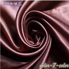 Satin Silk Craft Fabric 3.3 ft x 5 ft Dance Costumes Clothing Wedding Dress New