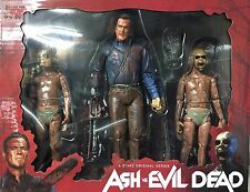 """BLOODY ASH vs DEMON SPAWN Evil Dead NECA AVED 2016 7"""" Inch Action 2 Pack FIGURES"""