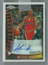 2008/09 Chrome Basketball Anthony Randolph Auto Refractor Rookie Card # 106/165
