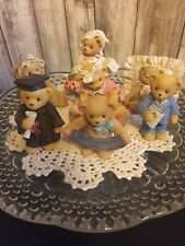 Cherished Teddies ~ Lot of 7 Figurines *All Mint* All with boxes & numbered