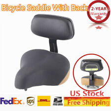 Universal Wide Saddle Electric Vehicle Tricycle Bike Seat Bicycle Pad Back Rest