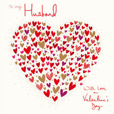 To My Husband With Love Valentine's Day Greeting Card Valentines Cards