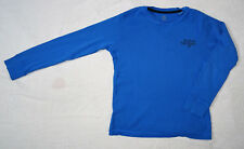 T-shirt bleu, manches longues pour garçons, Okaïdi, 8 ans (126 cm)