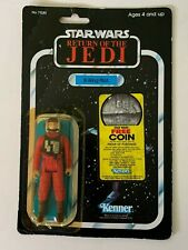 Vintage Star Wars Return of the Jedi B-Wing Pilot figure on 77 card back from 19
