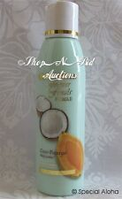 Hawaiian COCONUT PAPAYA BODY LOTION By FOREVER FLORALS Hawaii New  Kukui Nut Oil