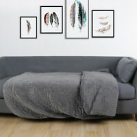 """Weighted Blanket 48 x 72"""" Fit to Queen Size, Full Size Heavy Blanket 15Lbs"""