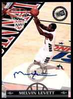 1999-00 Press Pass Melvin Levett Auto