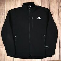 The North Face Apex Mens Softshell Jacket Black XL Vintage RN61661