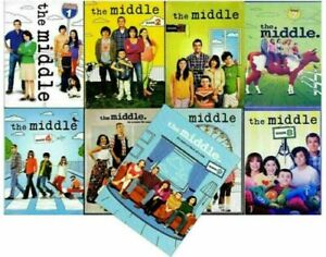 THE MIDDLE COMPLETE SERIES: 1-9 - DVD SET, FREE SHIPPING, NEW.