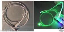 CÂBLE  MICRO USB -PC/Mac - LED vert -S4/S5/S2NOTE/HTC/SAMSUNG/NOKIA NEUF