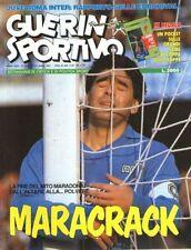 GUERIN SPORTIVO=N°14 1991=MARADONA COVER=POSTER LENTINI=POCKET COPPA DELLE COPPE