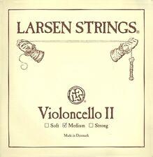 New Larsen 4/4 Cello D String  Medium Gauge - FREE USA SHIPPING