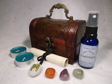 CONFIDENCE BOOST RITUAL CHEST spell kit wicca wiccan pagan magic self-esteem