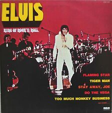 "Vinyle 33T Elvis Presley ""King of rock 'n roll"""