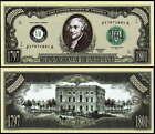 JOHN ADAMS 2nd PRESIDENT MILLION DOLLAR - Lot 10 Bills